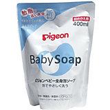 Мыло-пенка Pigeon для младенцев сменный блок 400 мл.
