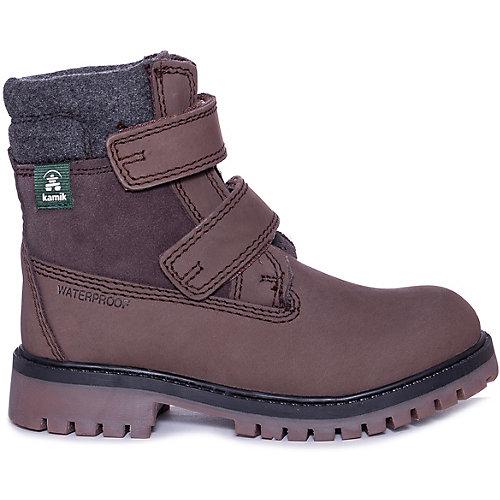 Утепленные ботинки Kamik Takodav - коричневый от Kamik