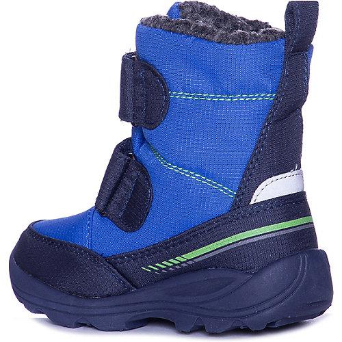 Утепленные ботинки Kamik Pep - синий/зеленый от Kamik