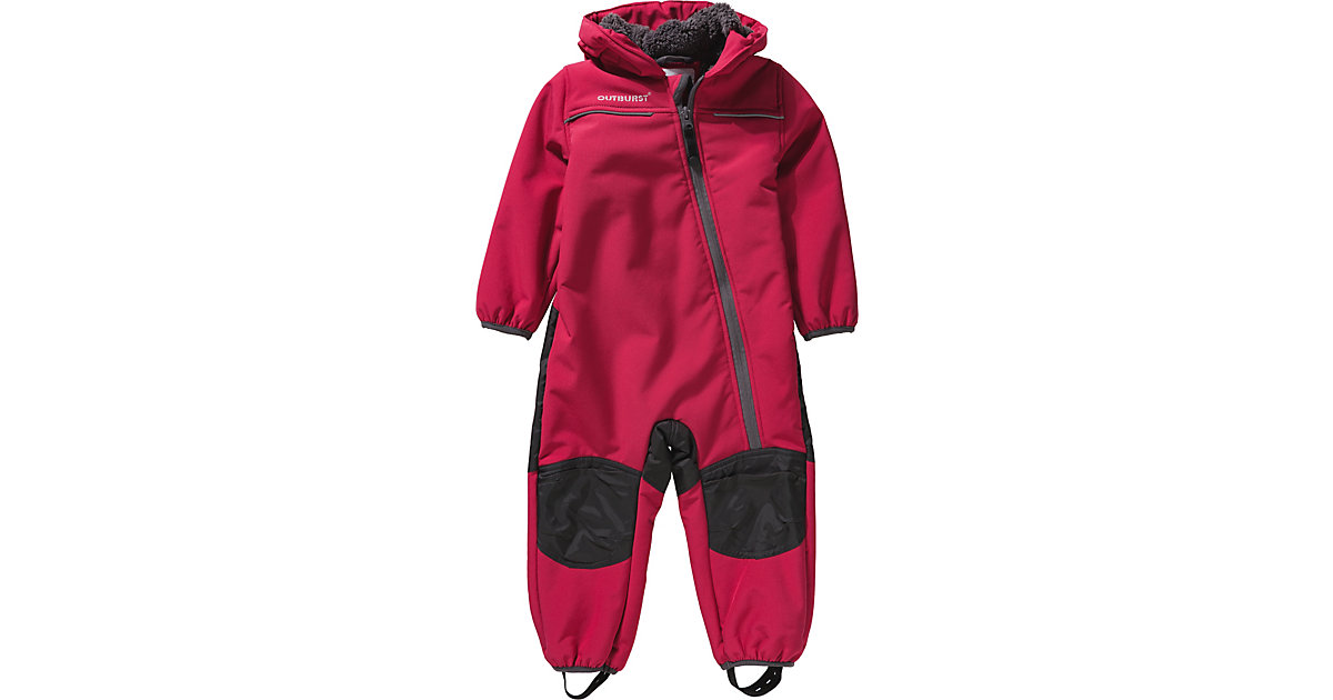 Outburst · Baby Softshell Overall Mädchen Gr. 74 Baby
