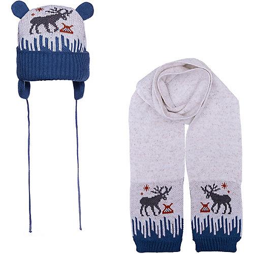 Комплект Gakkard: шапка и шарф - синий от Gakkard