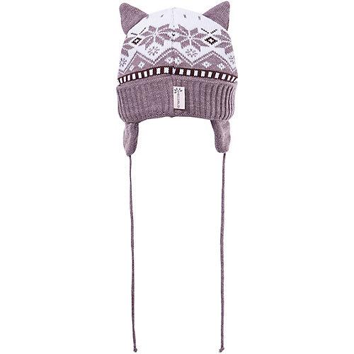 Комплект Gakkard: шапка и шарф - коричневый от Gakkard
