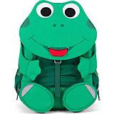 Рюкзак Affenzahn Fabian Frog, основной цвет зеленый