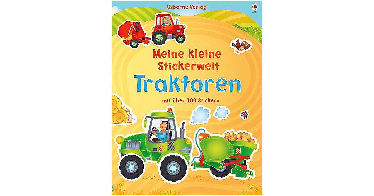 Buch - Meine kleine Stickerwelt: Traktoren