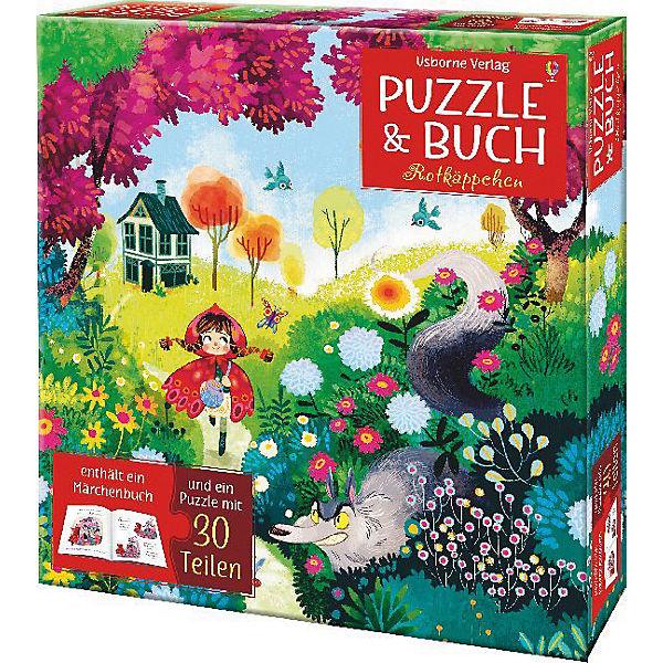 Puzzle und Buch: Rotkäppchen, Rob Lloyd Jones