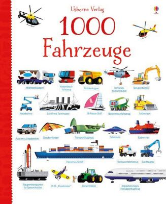 Buch - 1000 Fahrzeuge