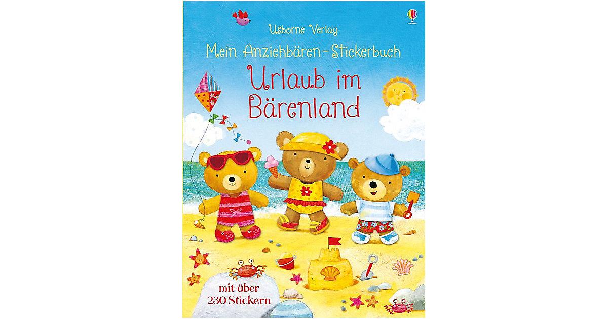 Mein Anziehbären-Stickerbuch: Urlaub im Bärenland