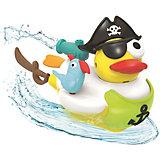 "Водная игрушка Yookidoo ""Утка-пират"", с водометом и аксессуарами"