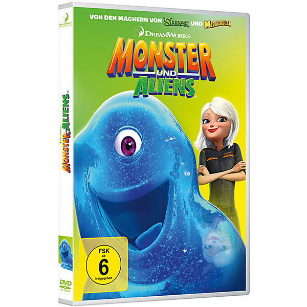 DVD Monster und Aliens