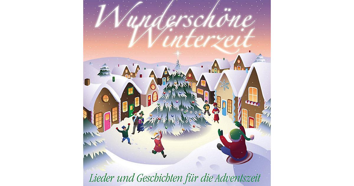 CD Wunderschöne Winterzeit - Lieder und Geschichten die Adventszeit Hörbuch  Kinder