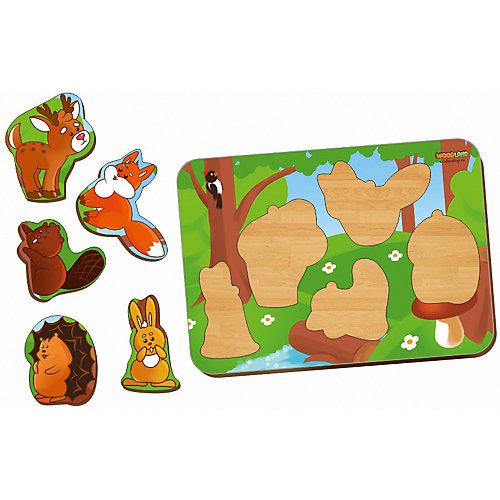 """Рамка-вкладыш Woodland """"Лесные животные"""" от Woodland"""