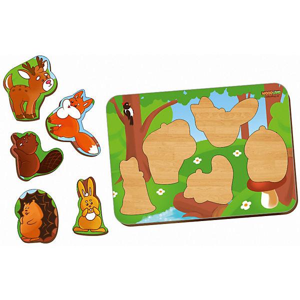 """Рамка-вкладыш Woodland """"Лесные животные"""""""