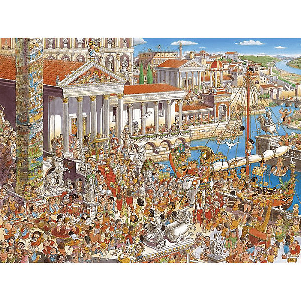"Пазлы HEYE ""Древний Рим"",  1500 деталей"