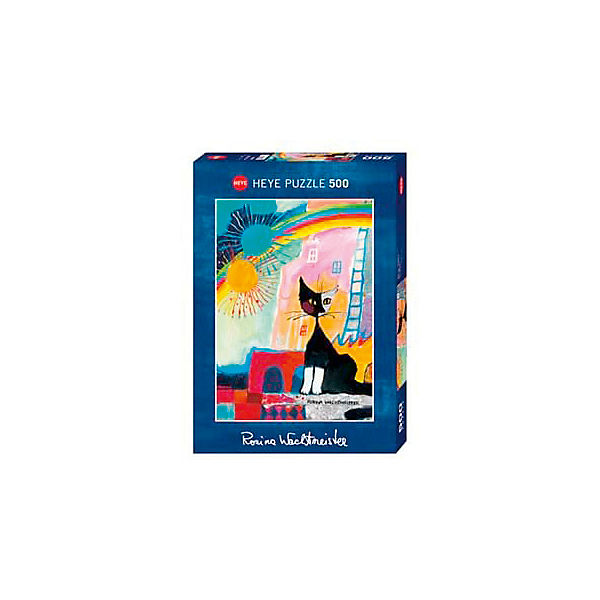 """Пазлы HEYE """"Котенок под радугой"""",  500 деталей, с фольгой"""