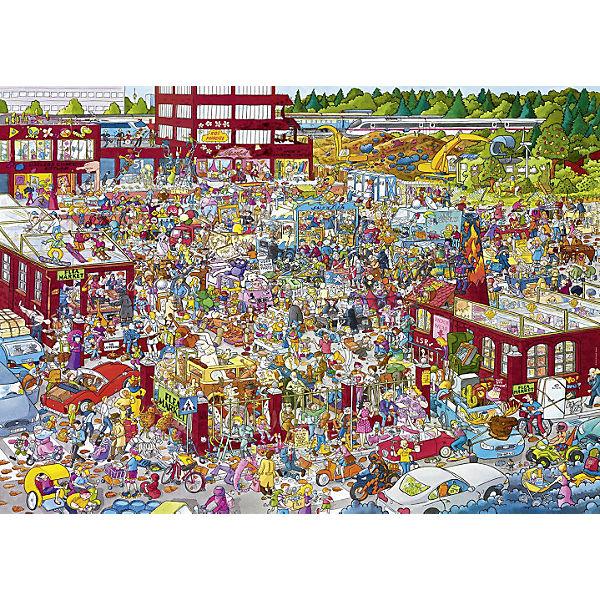 "Пазлы HEYE ""Блошиный рынок"",  2000 деталей"
