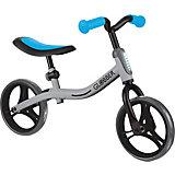 Беговел Globber Go Bike, серо-голубой
