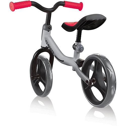Беговел Globber Go Bike, серо-красный - красный/серебряный от Globber