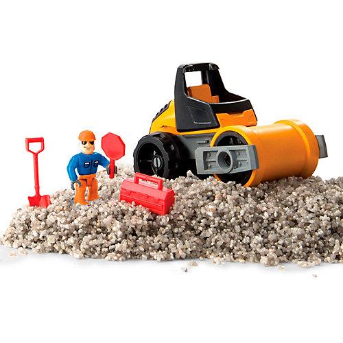 Песок для лепки Kinetic Sand серия Rock.141 грамм, машина, аксессуары от Kinetic sand