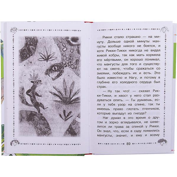 """Сказки """"Дошкольное чтение"""" Маугли, Р. Киплинг"""