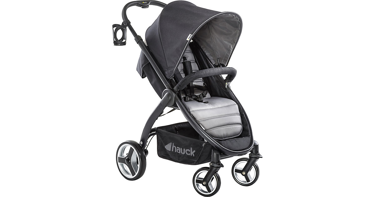 Hauck · Buggy Lift Up 4, Caviar/Stone