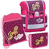 "Ранец Belmil CLASSY ""Anna Pet, Pony"" с мешком для обуви"