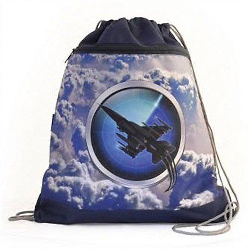 "Ранец Belmil MINI-FIT ""Sky Unit"" с мешком для обуви - голубой от Belmil"