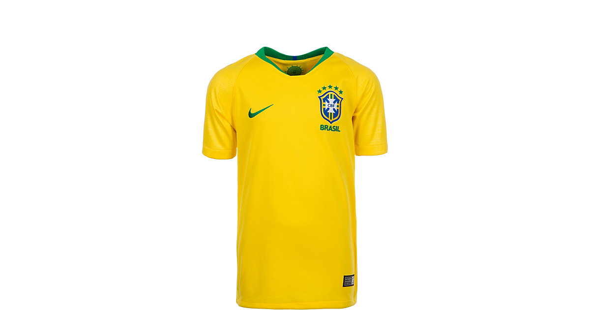 NIKE · Kinder Trikot Brasilien Stadium Home WM 2018 Gr. 128/134