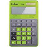 """Настольный калькулятор Berlingo """"Hyper"""", зеленый"""
