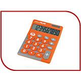 Настольный калькулятор Milan, оранжево-серый