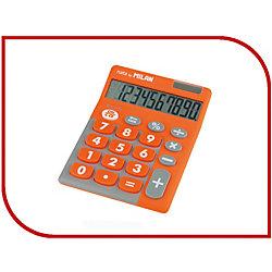 Настольный калькулятор <b>Milan</b>, оранжево-серый (9166758 ...