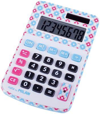 Настольный калькулятор Milan, в клеточку