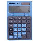 """Настольный калькулятор Berlingo """"Hyper"""", синий"""