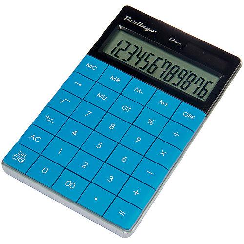 Настольный калькулятор Berlingo, синий от Berlingo