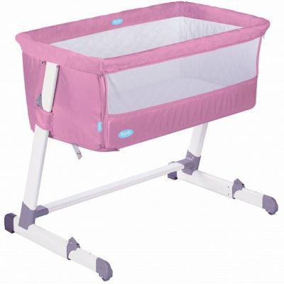 Детская приставная кроватка Nuovita Accanto, rosa