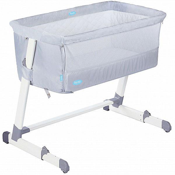 Детская приставная кроватка Nuovita Accanto, milk