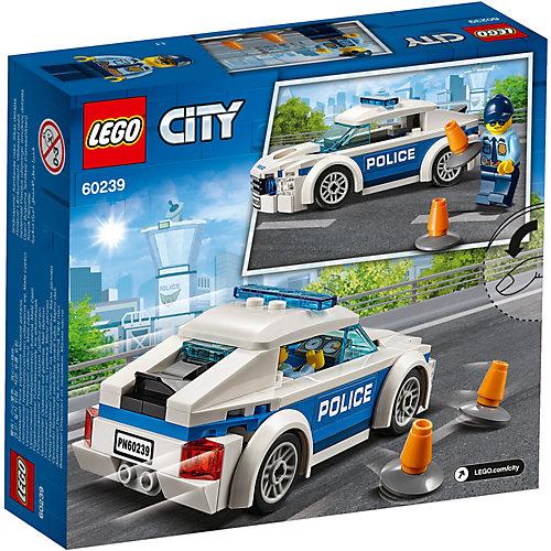 Конструктор LEGO City Police 60239: Автомобиль полицейского патруля от LEGO