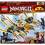 Конструктор LEGO Ninjago 70666: Золотой Дракон