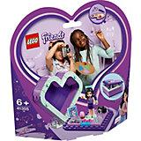 Конструктор LEGO Friends 41355: Шкатулка-сердечко Эммы