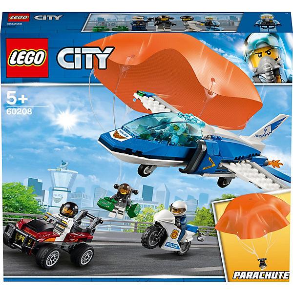 Lego 60208 City Polizei Flucht Mit Fallschirm Lego City Mytoys