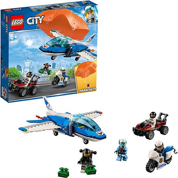 Конструктор LEGO City Police 60208: Воздушная полиция: арест парашютиста