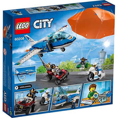 Конструктор LEGO City Police 60208: Воздушная полиция: арест парашютиста от LEGO