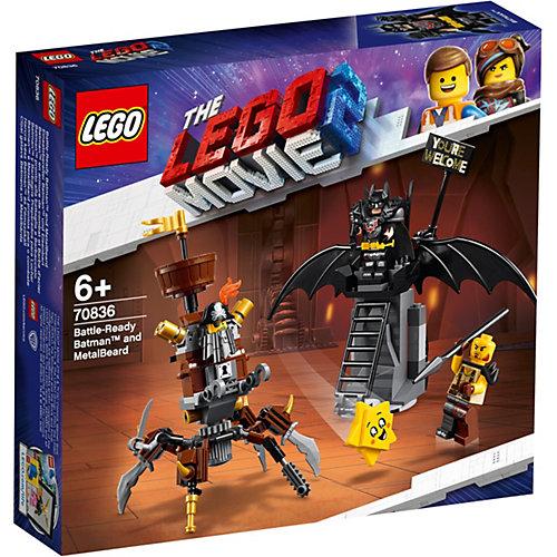 Конструктор LEGO Movie 70836: Боевой Бэтмен и Железная борода от LEGO