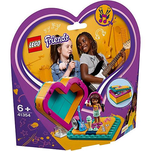 Конструктор LEGO Friends 41354: Шкатулка-сердечко Андреа от LEGO