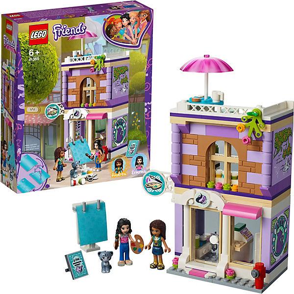 Конструктор LEGO Friends 41365: Художественная студия Эммы