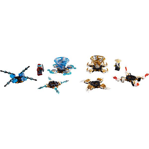 Конструктор LEGO Ninjago 70663: Ния и Ву: мастера Кружитцу