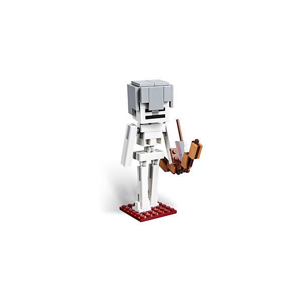 LEGO 21150 Minecraft: BigFig Skelett mit Magmawürfel, Magmawürfel, mit LEGO Minecraft dda25a