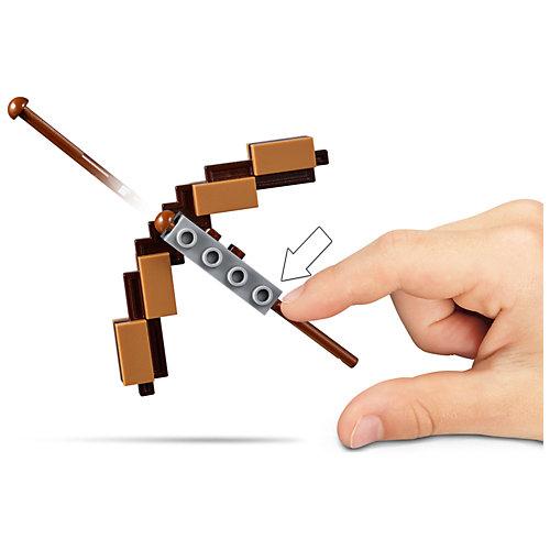 Конструктор LEGO Minecraft 21150: Большие фигурки, Скелет с кубом магмы от LEGO