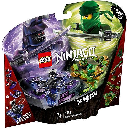 Конструктор LEGO Ninjago 70664: Ллойд мастер Кружитцу против Гармадона от LEGO