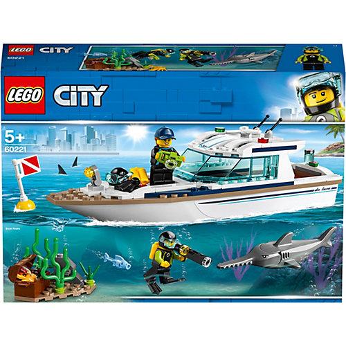 "Конструктор LEGO City ""Яхта для дайвинга"", арт 60221 от LEGO"