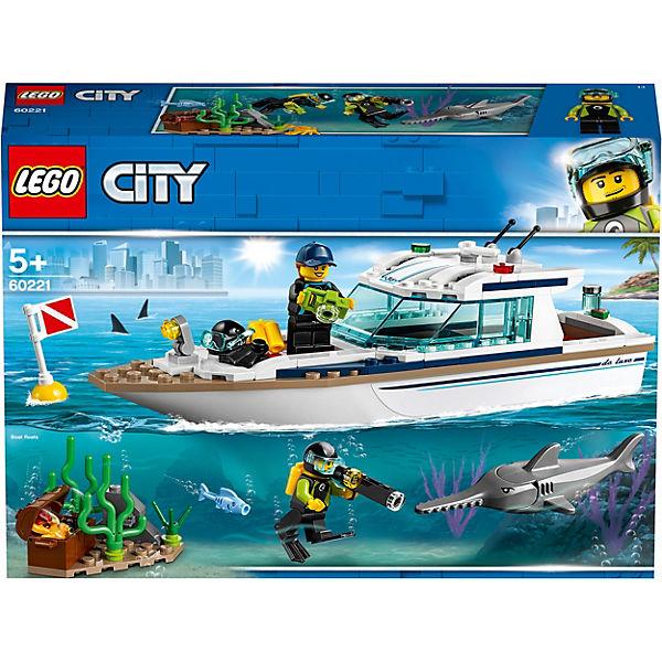 LEGO 60221 City: Tauchyacht, LEGO City